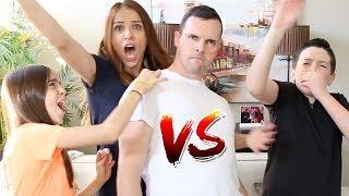 DAD vs BEATBOXER!!