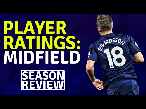 Midfield Player Ratings | Everton Season Review 17/18