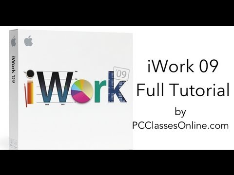 iWork Full Tutorial - By PCClassesOnline.com