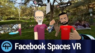 Facebook Spaces VR Test Drive