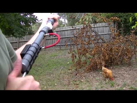 Auto Blow Dart Gun
