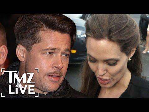 Brad Pitt & Angelina Jolie Strike Temporary Custody Deal | TMZ Live