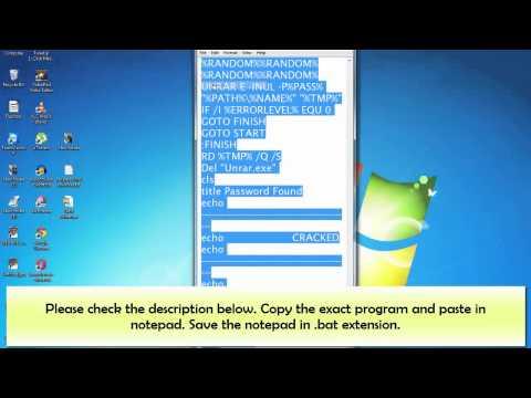 winrar password remover full mega