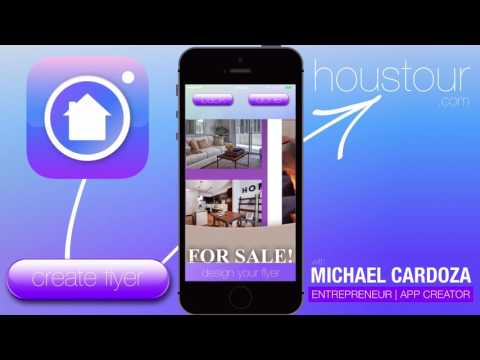 How to create flyers with houstour (Flyer #1)