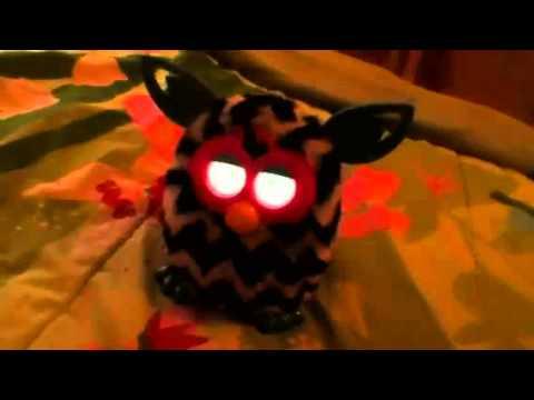 Furby boom funny voice