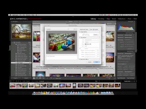 Creating a Graphical Watermark Preset in Adobe Lightroom 4