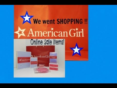 Online American Girl Sale Haul + Christmas Shopping