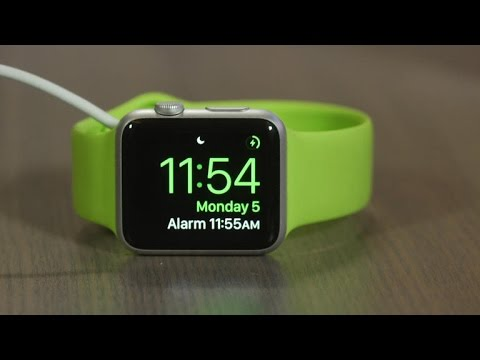 How To - Use Nightstand Mode on the Apple Watch