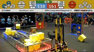 Semifinal 1 - 2018 SBPLI Long Island Regional #1