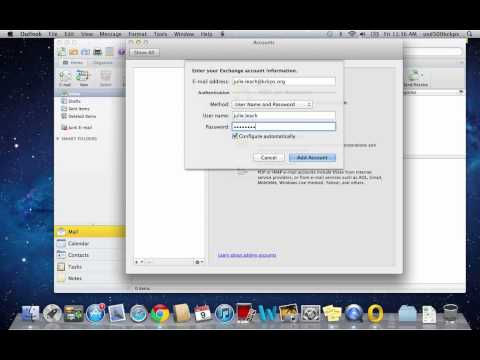 Setting Up Outlook on MacBook Air