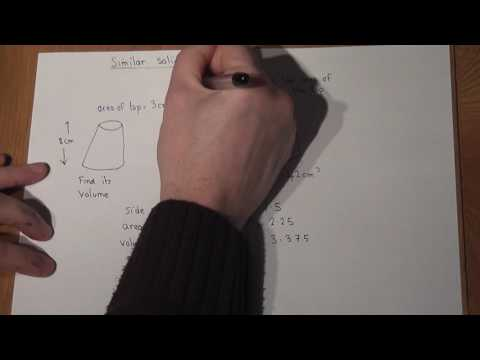 GCSE maths: Similar Shapes made easy: Area and volume Scale factors
