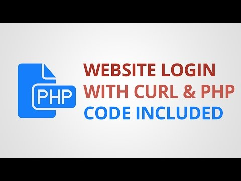 Login to Website using cURL & PHP