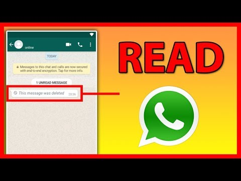 How to read your friend's deleted WhatsApp Messages - Tutorial