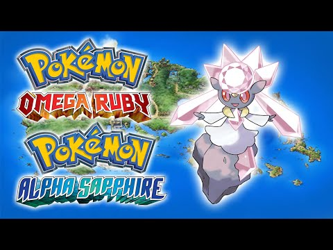Diancie - Pokémon Omega Ruby and Alpha Sapphire Mystery Gift
