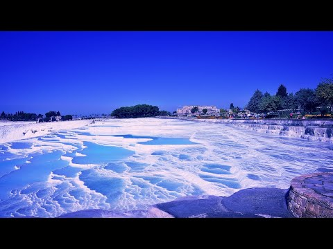 Pamukkale (Cotton Castle) - Travertines - Denizli - Turkey 4K UHD