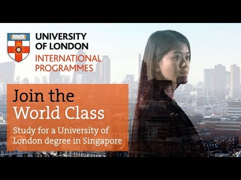 Studying with the University of London in Singapore