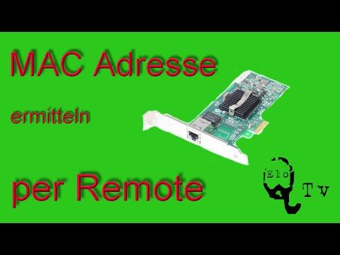MAC Adresse eines anderen Computers im Netzwerk cmd per remote ermitteln - read MAC address remote