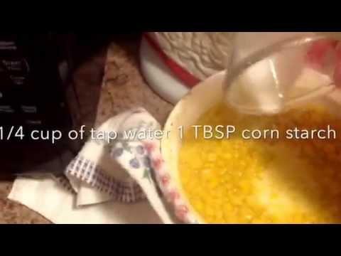 Cream Style Sweet Corn. 01-08-15