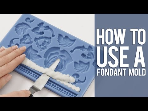 How to Use a Fondant Mold