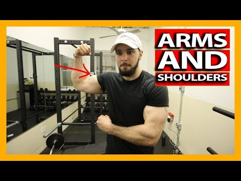 DUMBBELL ARMS AND SHOULDERS WORKOUT: BUILD MUSCLE AND GAIN MASS (Exercise Explanations)