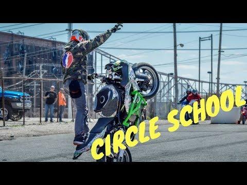 How To Do CIRCLE Wheelies on YOUR BIKE! (Wheelie School)