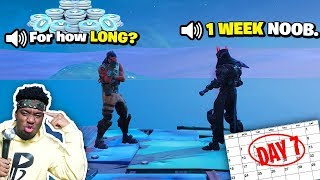 Kid Gave me Vbucks EVERYDAY for a Week so I did this FOR HIM... HUGE SURPRISE