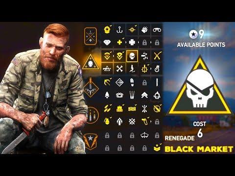 Far Cry 5 Early Gameplay : Perk Unlocks, Customization, & Map Size!