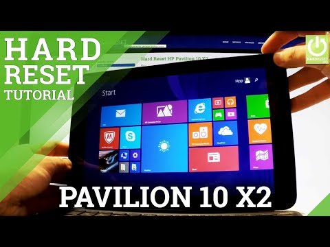 Hard Reset HP Pavilion 10 X2 - Restore Windows / Factory Reset