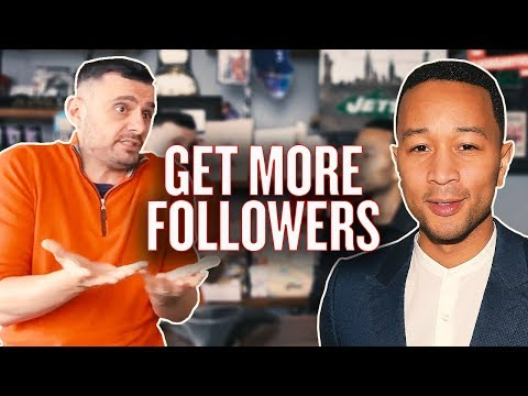 The Key to Growing on Instagram | #AskGaryVee with John Legend