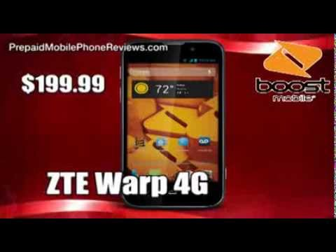 Boost Mobile Warp 4G LTE now available for $199 99