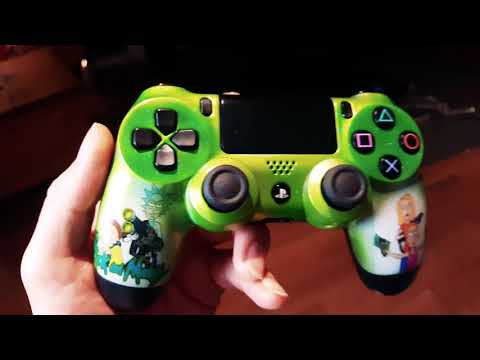 Waterslide Transfer Printing / Rick and Morty PS4 Controller