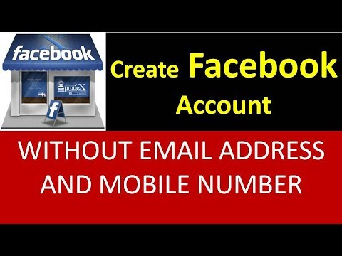 How To Create Facebook Account Without Email Address And Mobile Number Urdu/Hindi