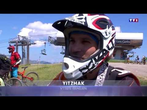 Reportage JT 20H - Le VTT sur les pistes de ski
