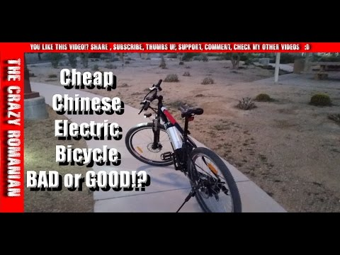Ancheer AKA Eshion Cyclamatic Cheap Chinese Electric Bicycle - are they any good !?