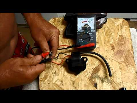 HOW TO CHECK A JOHNSON AND EVINRUDE COIL