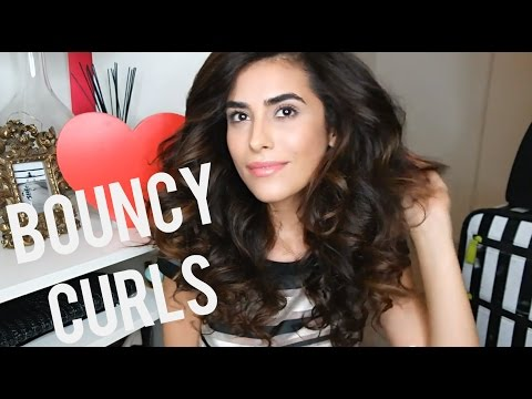 How to Create BIG Bouncy Curls (Easy)