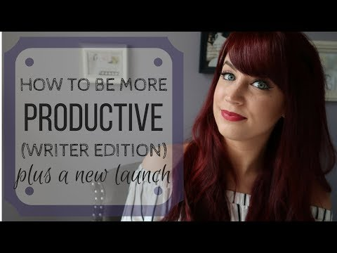 10 Ways To Be More Productive (Writer Edition) + Secret Project 3 Reveal