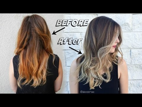 Fall Sombre Hair Color ft. NEW Redken Shades Eq 09P