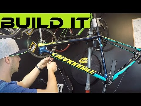 How To Build A Mountain Bike. My Cannondale FSI Assembly. Tutorial