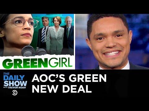 Conservatives Slam Alexandria Ocasio-Cortez's Green New Deal | The Daily Show