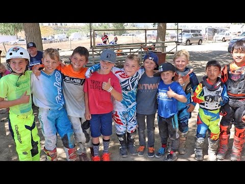 CRAZY DAY AT THE DIRTBIKE TRACK