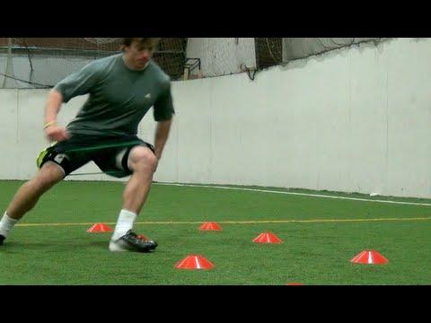 Explosive Cuts   Football Training  Football Speed and Agility