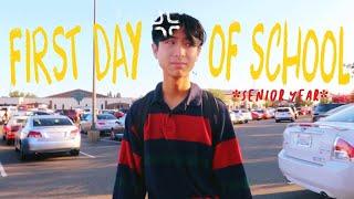 first day of high school *senior year* 📚