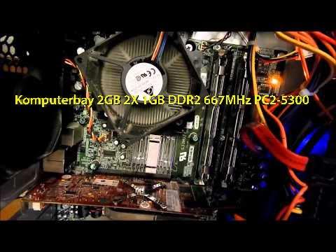 Komputerbay 2GB 2X 1GB DDR2 667MHz PC2-5300*dell upgrade*