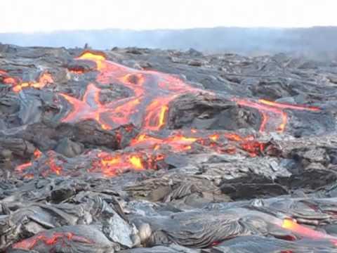Kilauea Lava Flow July 10, 2010