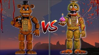 Minecraft FIVE NIGHTS AT FREDDY'S MOD / KILL SCARY MONSTERS