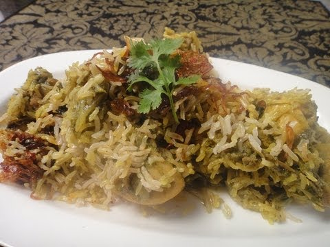 Brown Rice Biryani with Chutney Chicken