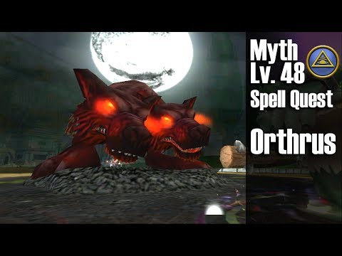 Wizard101 Orthrus Level 48 Myth Spell Quest