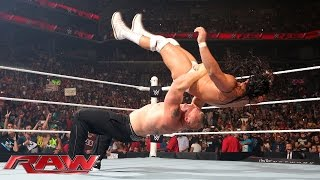 Paul Heyman and Brock Lesnar call out The Undertaker: Raw, Aug. 24, 2015