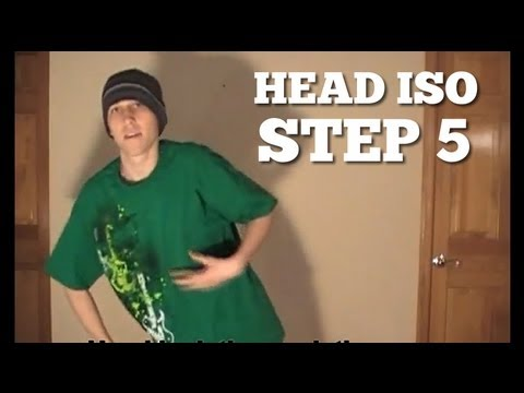How to dance POPPING tutorial - HEAD ISOLATION